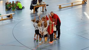 Handballjugend am Turnier in Karlsfeld
