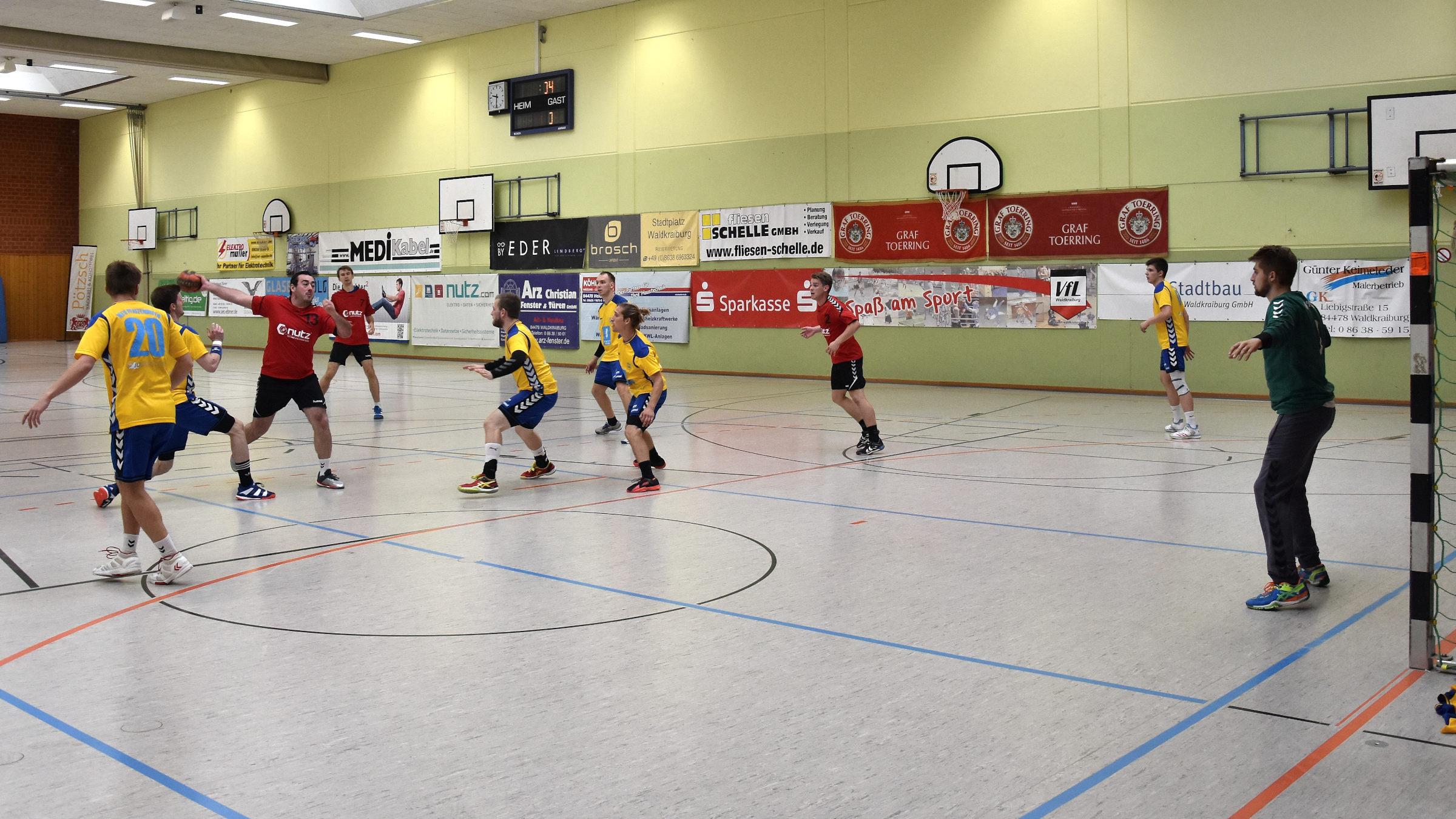 Heimspiel  Herren 1 gegen die HG Ingolstadt