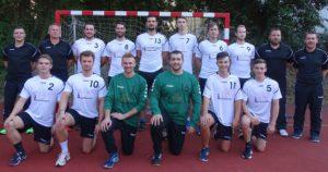 Waldkraiburger Handball-Herren in der Saisonvorbereitung