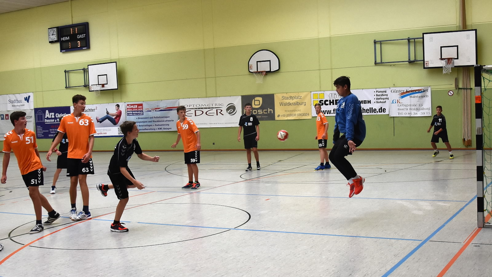 Handball am Wochenende