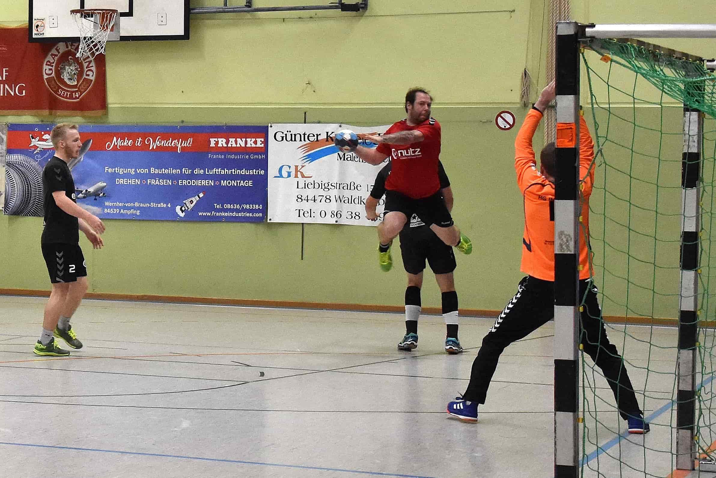Großes Heimspielwochenende bei den Handballern