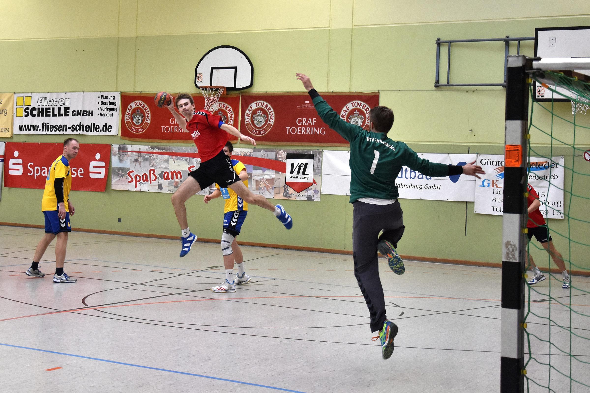 Handball Herren 1 mit deutlichem Sieg