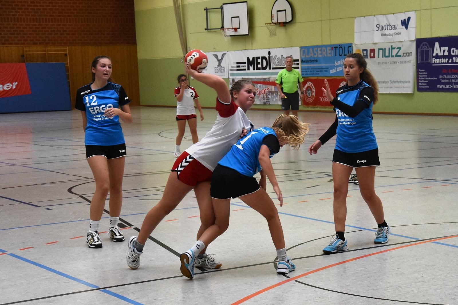 Jugend Handball vom Wochenende