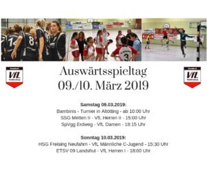 Waldkraiburger Handballer Auswärts gefordert!
