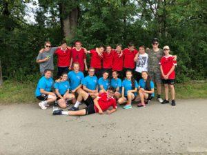 Weibliche und Männlich B-Jugend beim Allgäu Cup
