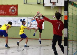 Handballjugend am Wochenende unterwegs